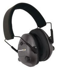 Champion Black Adjustable Electronic Earmuffs Md: 40974 .