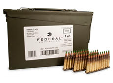 Federal Lake City XM855 5.56x45mm 62 Gr. Green Tip FMJ 420 rds. w/ Ammo Can