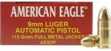 Federal Cartridge GS23868 9mm Luger 115 Grain FMJ/50