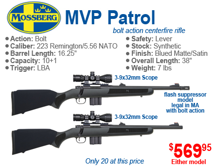 Mossberg MVP Rifle